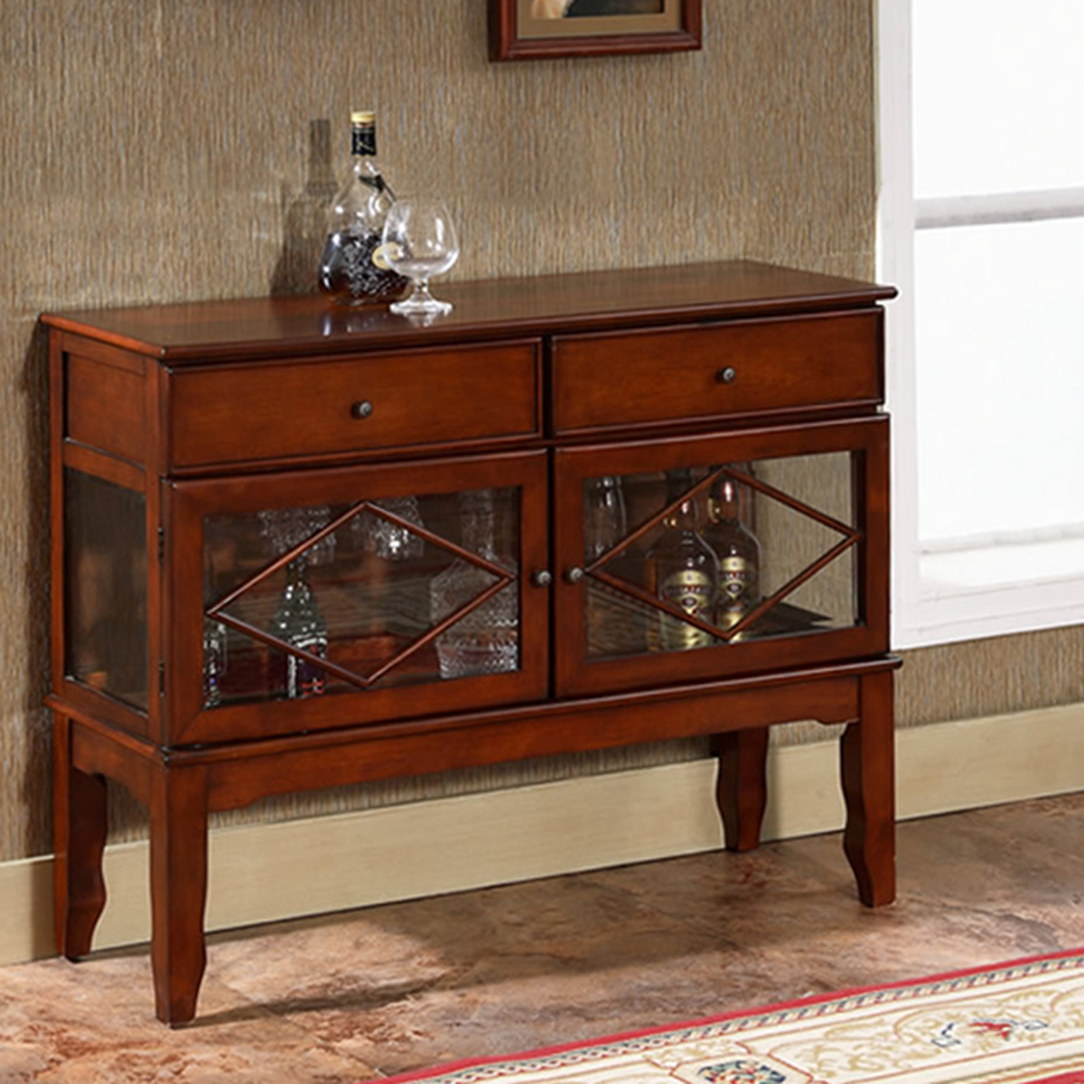 Picture of: All Things Cedar Buffet Curio Cabinet Corner Hutch Hall Table Entry Bench Shoe Storage Rack Accent Furniture